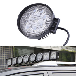 TracTor beam online shopping - 27W V Spot LED Work Light Lamp For Boat Tractor Truck Off road SUV