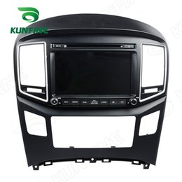 Discount car video screen for rear - Android 6.0 Octa Core 2GB RAM Car DVD GPS Navigation Multimedia Player Car Radio for Hyundai H1 2016 Stereo Headunit Wif