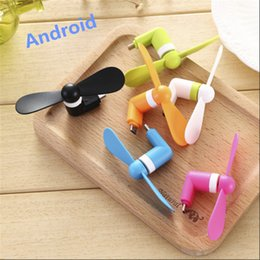 Phone Types Australia - High quality USB Gadget 3 2 in 1 Portable Cellphone Mini Electric Fan USB Cooling Cooler Fan For iPhone OTG Android Type C Smart Phone