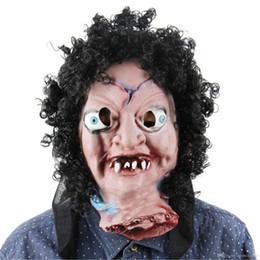 new mascaras halloween payday scary masquerade masks halloween party latex mask head headgear broken face doll