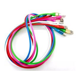SamSung S6 edge phoneS new online shopping - New Micro USB Sync Data Charger Cable Candy Round Cord M FT Charging Wire Line Universal Colorful for Samsung S7 S6 edge HTC LG Cell phone