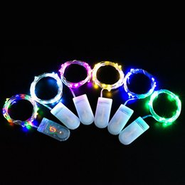 $enCountryForm.capitalKeyWord NZ - Free shipping via DHL Copper wire string Waterproof IP65 mini 2m 20leds xmas LED fairy string christmas party decoration LED strip CR2032