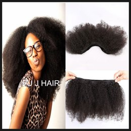 Human Hair Extensions India Canada - 2017 JUFA Hot Brazilian Afro Kinky Curly Hair Weave 100G India Kinky Curly Virgin Hair Bundles Cheap Afro Kinky Human Hair Extensions