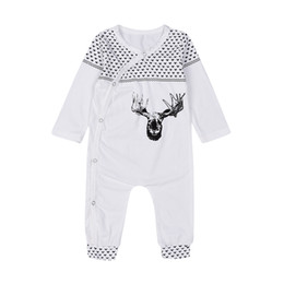 $enCountryForm.capitalKeyWord NZ - Mikrdoo High Quality Christmas Clothes Baby Suits Kids Boys Girls Deer Print Infant Sleepwear Cotton Warm Romper Jumpsuit Xmas Outfits 0-18M