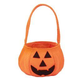 $enCountryForm.capitalKeyWord UK - Halloween Pumpkin Bag Pocket Halloween Props Basket Nonwovens Candy Bag Stereo Pumpkin Bag G730