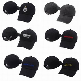 Discount blank strapback hats - Fashion Blank StarBoy Four two Four Strapback Caps More Life golf Hats Men Women Sport Snapback Cap Hip Hop Adjustable H