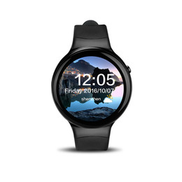 """Smart Watches Gps Wifi Canada - Smart Watches I4 Android 5.1 MTK6580 4 Core 1GB 16GB 1.39"""" Display GPS Wifi 3G Bluetooth 4.0 Heart Rate Monitor Smartwatch"""