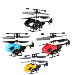 micro remote helicopter Canada - Funny remote control toy for kids rc helicoptero QS QS5013 QS5012 2.5CH Mini Micro RC Helicopter CJ91263 Kids Gift Present Child