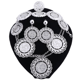 China Fashion Jewelry Sets African Nigeria Beads Dubai Jewellery Set Women Wedding Bridal Turkish Choker Costume Jewelry Set supplier eastern jewellery suppliers