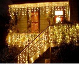 $enCountryForm.capitalKeyWord Australia - christmas outdoor decoration 3.5m Droop 0.3-0.5m curtain icicle string led lights 220V 110V New year Garden Xmas Wedding Party