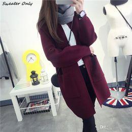 Discount Long Sweater Coats Sale | 2017 Long Sweater Coats Sale on ...