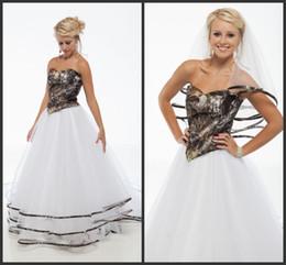 2017 strapless camo wedding dresses 2017 cheap camo wedding dresses satin tiered sexy strapless open back