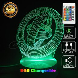 $enCountryForm.capitalKeyWord NZ - Round shape 3D Remote Control USB Led night light 7colors changing Christmas Mood Lamp kids Living Bedroom Table Desk Lighting