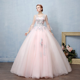 $enCountryForm.capitalKeyWord Canada - 100%real fairy pale pink flowers fairy cosplay ball gown royal princess Medieval Renaissance Victorian dress Belle ball