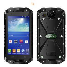 L15 Smartphone 4.5 Inch 1GB RAM 8GB ROM IP68 Waterproof Mobliephone Android Smartphone MTK6582 Quad Core GPS Dual SIM Smartphone Hot Sale
