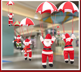 Wholesale Christmas Decoration for Home Snowman Ornament Parachute Christmas Doll Pendant New Year Decor Christmas Toys HB002