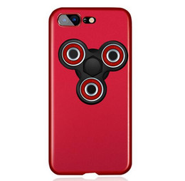 China 2017 Hand Fidget Spinner PC Hard Matte Phone Case For iPhone 6 6S 7 plus samsung S7 S7 edge S8 plus Rotatable Finger Spinner cellphone case suppliers