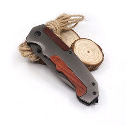 $enCountryForm.capitalKeyWord Canada - B036 Pocket Folding Browning Knife Survival Knives Wood Handle Cutting EDC Tool Tactical Knife Hunting Best Gear
