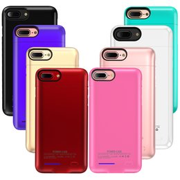 China Original Battery Case For Iphone X 8 7 Plus 4.7 5.5 Universal Clip Charger magnet Phone Holder Wireless Power Bank Cover suppliers