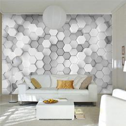 Custom Photo Wall Paper 3D Stereoscopic Geometric Wallpaper Office Sofa  Living Room TV Background Mural Wallpaper For Walls 3d Modern Wallpaper For  Office ...