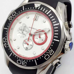 Mens swiss chronograph luxury watches online shopping - Best Brand Luxury Men Quartz Sports Chronograph Watch White Face Silver Stainless Rubber Strap Stopwatch Date Business Mens Swiss Wristwatch