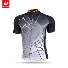 Nuckily Summer short sleeve nice quality UV protection cycling jersey for  men AJ232 92c5b45c7