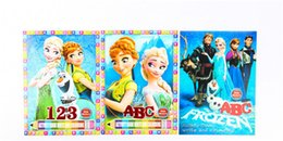 FROZEN Cartoon Baby Children Elementary Coloring Books Painting Drawing Book In Childrens Early Education Containing Small 40pcs Lot FREE