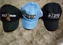 62c6fa30a43 Martin Show Cap baseball Retro Dad Hat Drake OG Custom 90s X Logo Vtg Kanye  West Love   Basketball casquette hats men bone swag