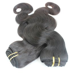 18 Inch Human Hair For NZ - Brazilian Hair Body Wave 3 Bundles Human Hair Weaves Unprocessed Hair Wefts 8-30 inch can be dyed to blonde 613 for white women