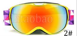 Hot Girls Sunglasses NZ - Moq=1pcs HOT New TOP Quality Children Skiing Overall View Single-Deck Sunglasses Windproof Anti-fog Glasses 6 Colors Free Shipping