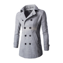Discount Light Grey Winter Coats Men | 2017 Light Grey Winter ...