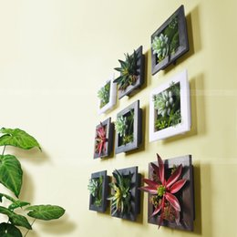 plants for living room. 2018 artificial plants living room Wholesale  Succulent 3D house adornment metope wall decoration Discount Artificial Plants Living Room