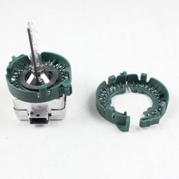 Großhandel D1S D1R D1C D3S HID Xenon Lampenhalter Basis Kunststoff Metall Halter Ringe Adapter Für Auto Scheinwerfer