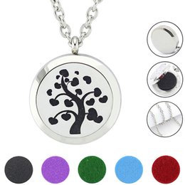 $enCountryForm.capitalKeyWord NZ - Free with Chain and Pads! Hot Sale Diffuser Necklace Magnetic 316L Stainless Steel Perfume Locket Pendant Jewelry Wholesale