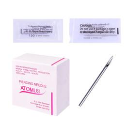 Wholesale 100 Pcs Set Piercing Needle 12G 14G 16G 18G 20G Sterile Tattoo Body Piercing Needles For Body&Art