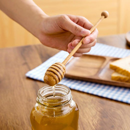 $enCountryForm.capitalKeyWord NZ - 20.5*3cm High Quality Long Handle Beech Wood Honey Dipper Eco-friendly Wooden Honey Stick Honey Server Home & Kitchen Accessories