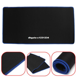 keyboard mouse for pc Canada - 600*300MM Pro Ultra Large Rubber Keyboard Mat Professional Gaming Mouse Pad Mat Locking Edge Keyboard Table Mat For PC Laptop