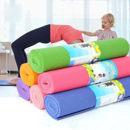 a96b9daa69cd8 PVC Yoga Mat 3mm Abdominal Curl Non Slip Sports Cushion Colour Superior  Quality Soft Matstear Proof Durable Multi Function Cushions 13kt J1
