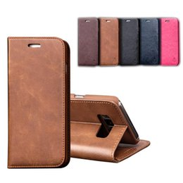 cell phone holder design 2019 - Luxury Phone Case for Iphone X 8 6 6s 7 plus S8 Plus Note8 s7 edge Leather Back Cover PC case design Wallet Cell Phone H