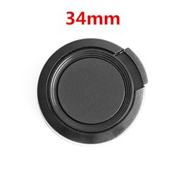 C Lens Canada - Wholesale-34mm Camera Lens Cap Protection Cover Lens Front Cap for S C N 34mm DSLR Lens free shipping