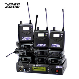 $enCountryForm.capitalKeyWord Canada - Professional Monitoring UHF Wireless In Ear Headphone Stage Monitor System One USB Transmitter With 10 Receiver Recording Studio Mixer Audio
