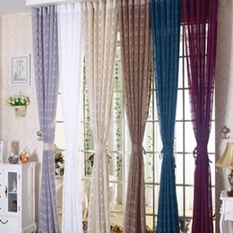 new arrival linen lattice curtain window screen gauze vertical hanging simple stylish living room decorative curtains multi colors gauze