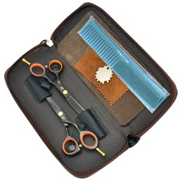 Barber Thinning Shears Australia - 5.5Inch Meisha 62HRC Professional Salon Hair Shears JP440C Hairdressing Scissors Set Barber Salon Hair Cutting & Thinning Shears, HA0022