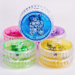$enCountryForm.capitalKeyWord Canada - Activity Toys 100Pcs Chinese YOYO Professional Plastic LED Flash YO-YO Trick Ball Toy for Kids Adult mix Colors