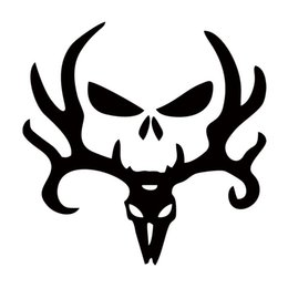 punisher sticker car 2019 - Deer Hunt Hunting Punisher Decal Personality Funny Car Styling Sticker Jdm Truck Car Decal Window Graphics Decor cheap p
