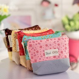 $enCountryForm.capitalKeyWord NZ - Ladies Cheapest Canvas Cute Flowers Small Change Coin Purse Little Key Car Pouch Money Bag,Girl's Mini Short Coin Wallet
