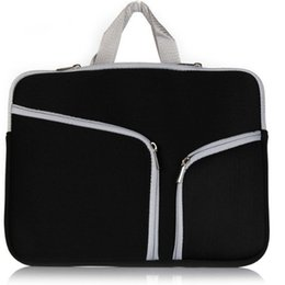 $enCountryForm.capitalKeyWord UK - New 13 inch 15 inch Laptop Portable Felt Carrying Protective Sleeve Bag For Laptop Suitable Ipad Air Macbook Sleeve DHL PCC053