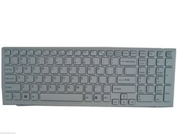 Laptop keyboard sony online shopping - Replacement White New keyboard For SONY Vaio With Frame Laptop US