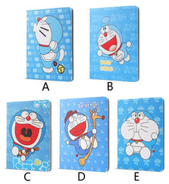 Discount tpu ipad waterproof - Case for ipad 2 3 4 Cartoon Doraemon PU Leather cover For apple ipad2 ipad 3 ipad 4 case Tablet Protective Cover