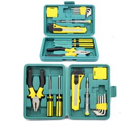 Профессия 11 шт набор инструментов коробка ручной набор инструментов для домашнего ремонта автомобиля инструмент с футляром